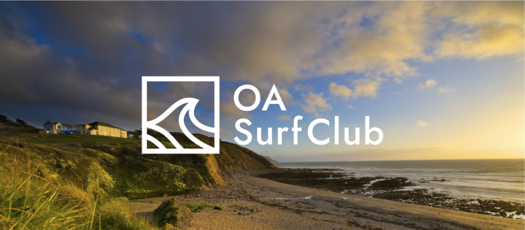 OA Stay accommodation building situated on a cliff top overlooking the sea